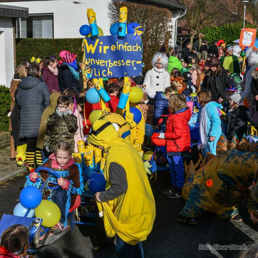 Kinderkarneval in Born