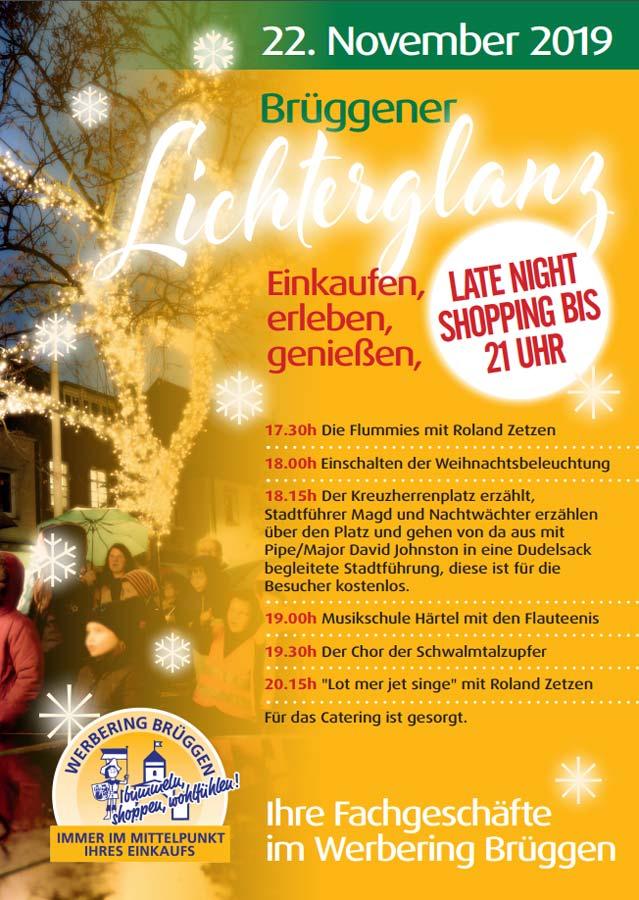 Brüggener Lichterglanz 2019